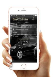 Chauffeur Lyon version mobile