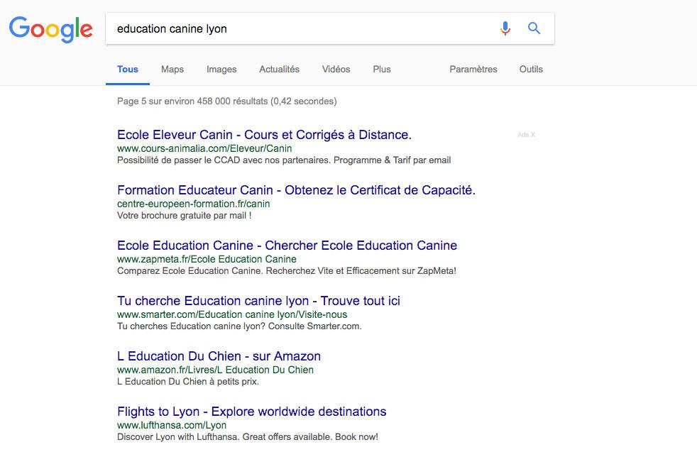 Nouveautés Google