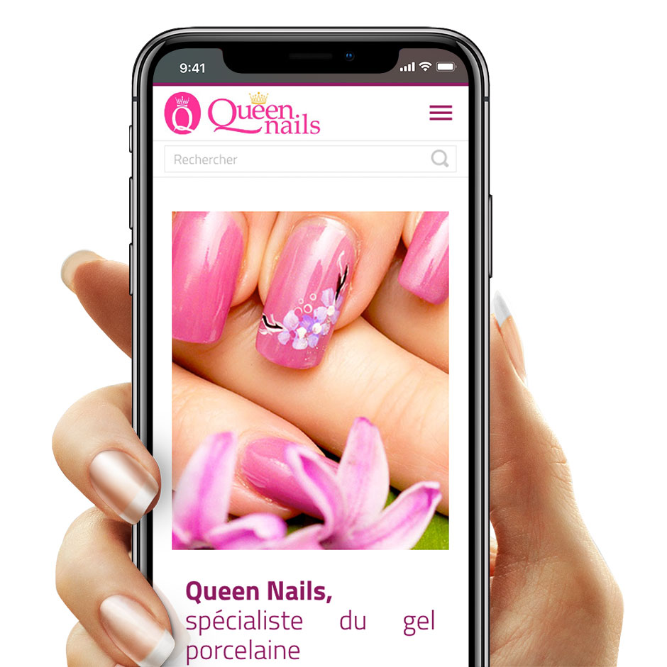 Queen Nails Mobile