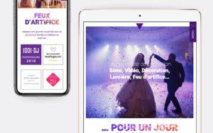Dj Drie Refonte du site Illucom