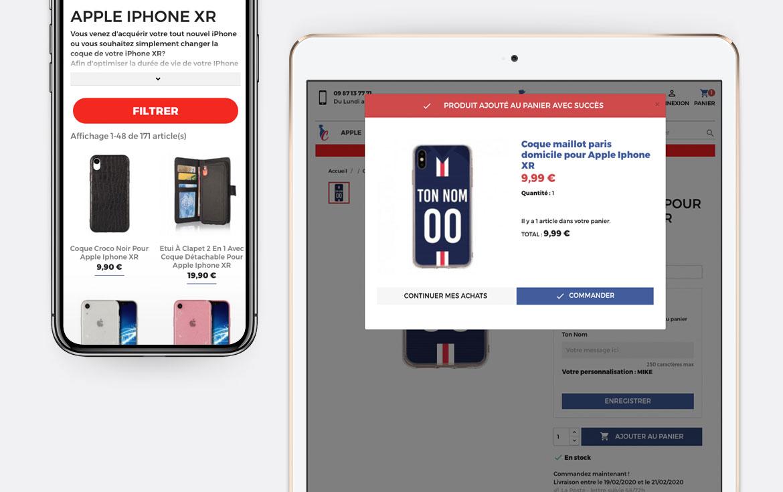 Frenchcase conception boutique en ligne
