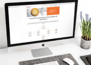 ViroScan3D, refonte site web